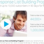 Getresponse List Building Program: Must For eMail Marketers