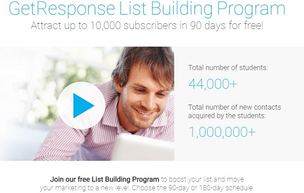 Getresponse List Building Program